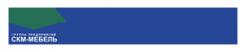 Логотип компании СКМ-МЕБЕЛЬ