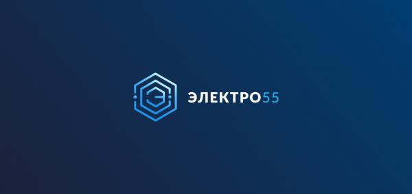 Логотип компании Электро55