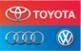 Логотип компании Тойота Ауди Фольксваген