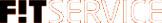Логотип компании F!T SERVICE