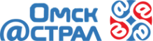 Логотип компании Астрал Омск